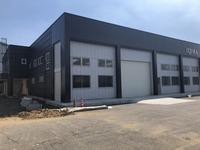 新工場完成