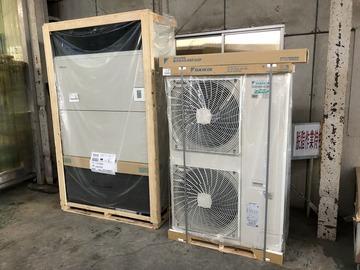 洗浄工程エアコン導入